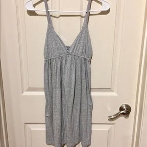 Aerie Grey Swim Cover Up/Sleep Gown